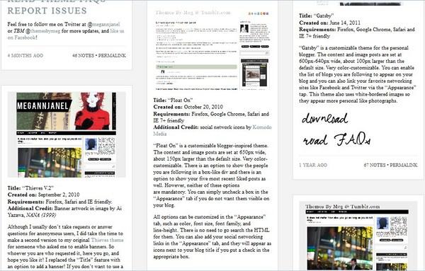 Situs Penyedia Theme Tumblr Gratis