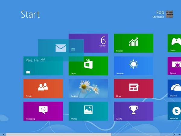 Cara Mengatur Start Screen Tile di Windows 8