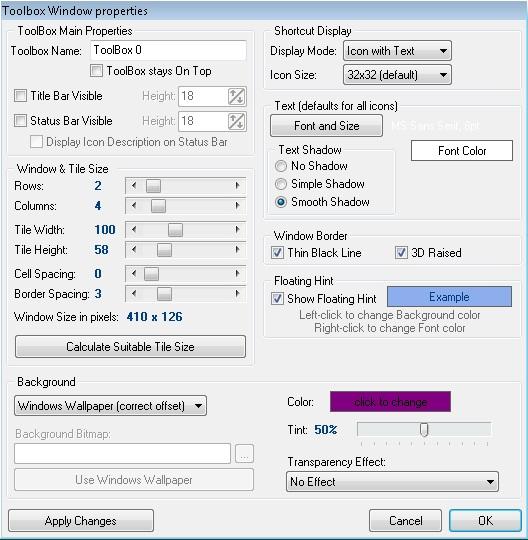 Tata Kembali Shortcut Desktop yang Berantakan Dengan ToolBox