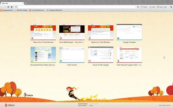 Torch: Generasi Baru Web Browser yang Unik dan Cepat