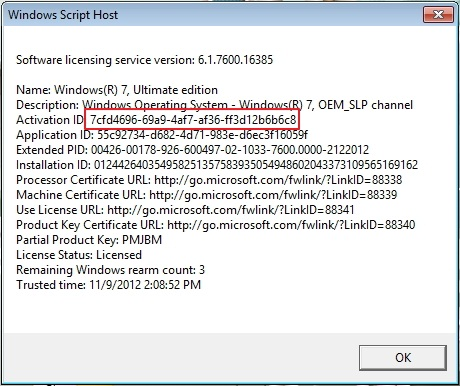 Cara Uninstall dan Install Windows Product Key