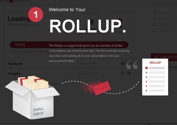 Mengatur Langganan Email Newsletter Dengan Unroll.Me