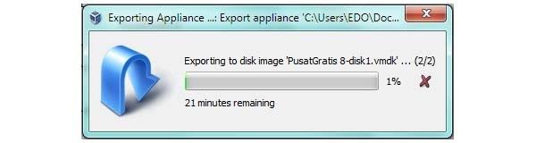 Cara Convert VirtualBox Image ke VMware Image