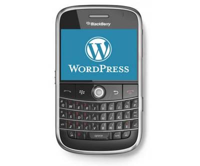 WordPress for BlackBerry Ngeblog di BlackBerry Semakin Gampang