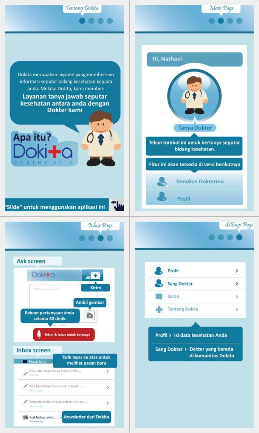 Wow Ada Dokter Online di Android
