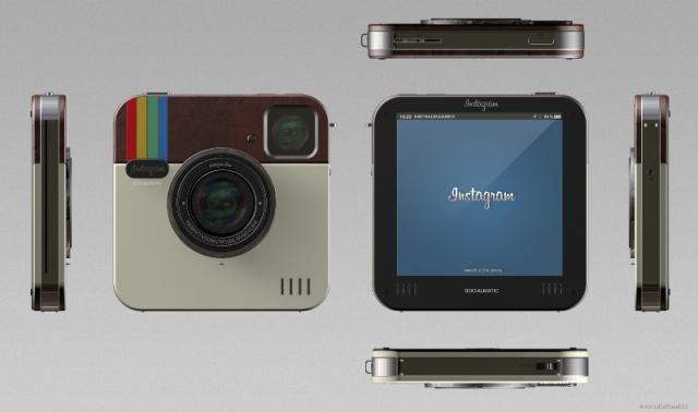 Wow Ternyata Kamera dengan Bentuk Icon Instagram itu Ada