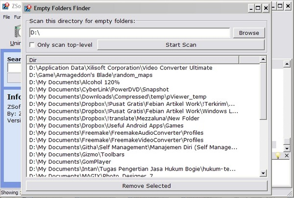 ZSoft Uninstaller: Uninstaller Serba Guna Tuk Membantu Mengurangi Beban Hard Drive