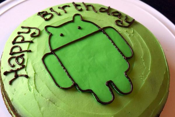 Selamat Ulang Tahun yang Ke-5 Android!