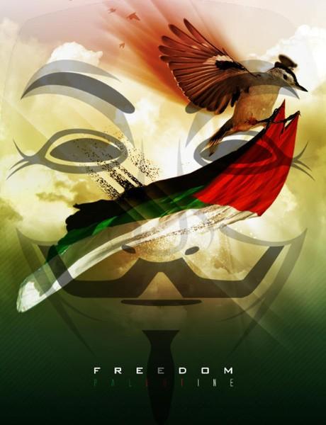 Anonymous Menghajar Lebih Dari 650 Situs Israel