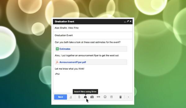 Kini Kamu Bisa Mengirim Attachment Hingga 10GB dengan Gmail