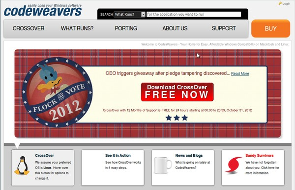 Download CrossOver untuk Menjalankan Aplikasi Windows di Linux atau Mac (Giveaway!)