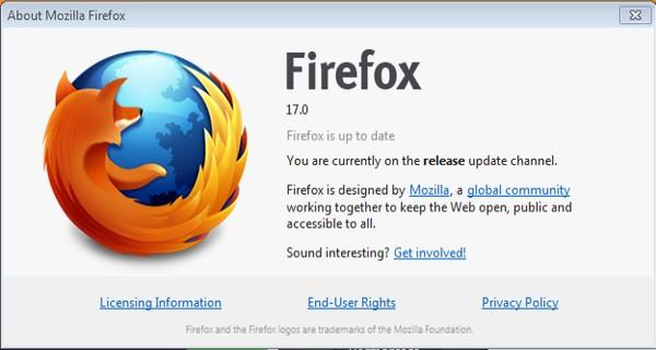 Mozilla Firefox 17 Sudah Dirilis, Apa Saja yang Baru?