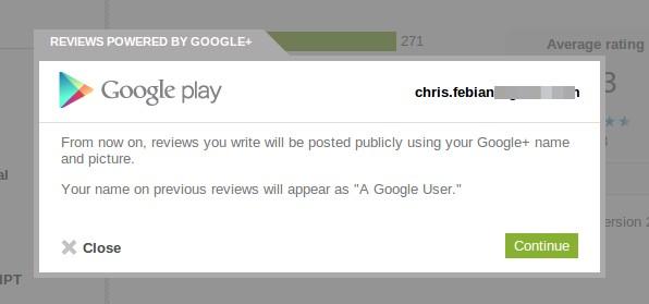 Review Google Play Kini Terhubung dengan Akun Google+ Kamu!