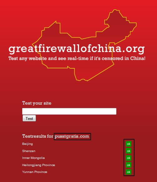 Pemerintah Cina Memblokir Semua Layanan dari Google