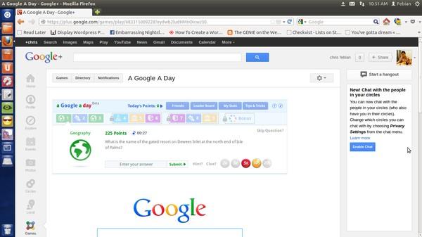 """Aw..Tombol """"I'm Feeling Lucky"""" Google Kini Tampil Acak!"""