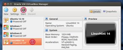 Cara Menginstall Linux Mint 14 di VirtualBox
