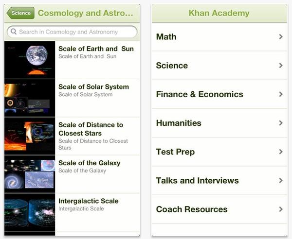 Aplikasi Khan Academy untuk iPhone dan iPad Telah Dirilis