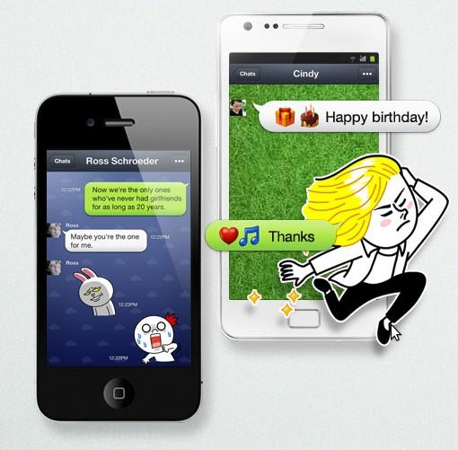Telepon dan Berkirim Pesan Gratis dengan Aplikasi LINE