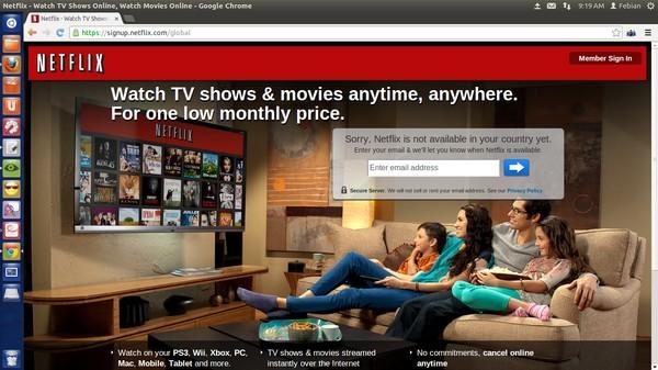 Cara Termudah Menikmati Netflix, Pandora, dan Hulu dari Indonesia