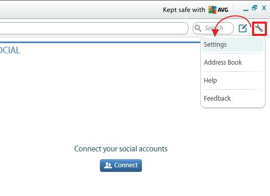 Mengakses Semua Jejaring Sosial Dalam Satu Aplikasi dengan AVG MultiMi