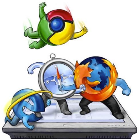Inilah Pemenang dari Perang Browser, Siapa yang Tercepat?