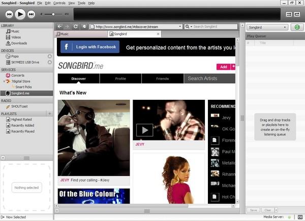 Songbird, Aplikasi untuk Menata Koleksi Musik Kamu