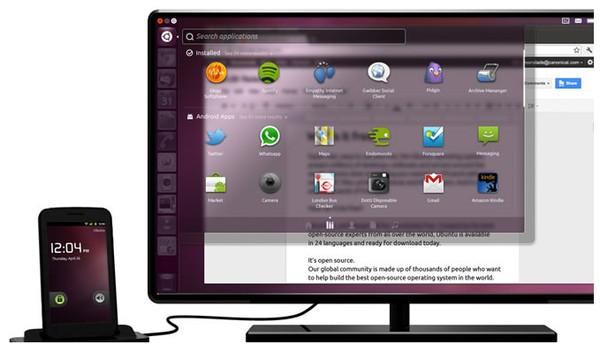 Ubuntu Bisa Mengubah Smartphone Android Menjadi Desktop Komputer