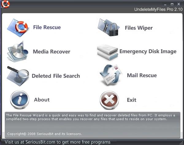 Recover File yang Sudah Terhapus Dengan UndeleteMyFiles