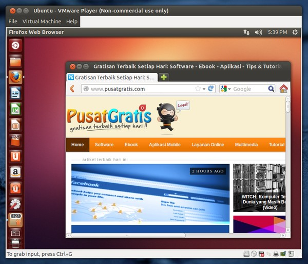 Cara Install VMware Player di Ubuntu