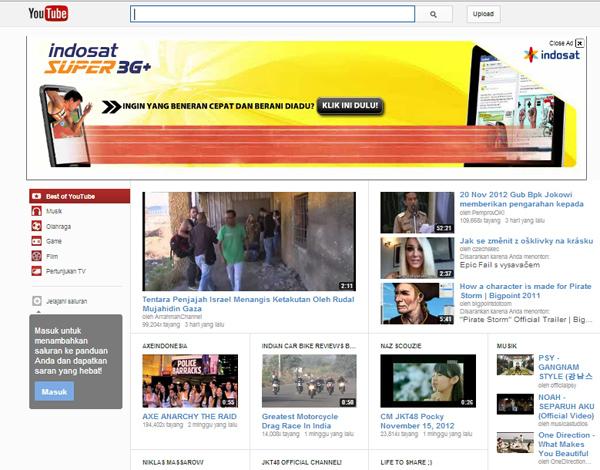 Cara Mengganti dan Mengembalikan Tampilan Youtube dengan Chrome