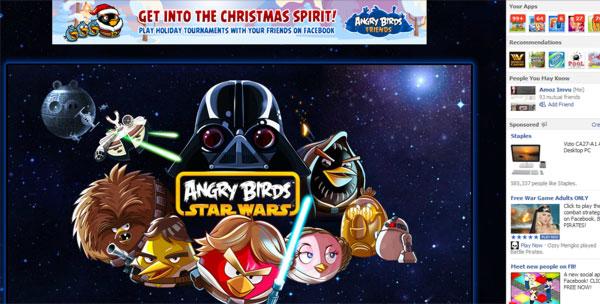 Angry Birds Star Wars Kini Sudah Tersedia di Facebook