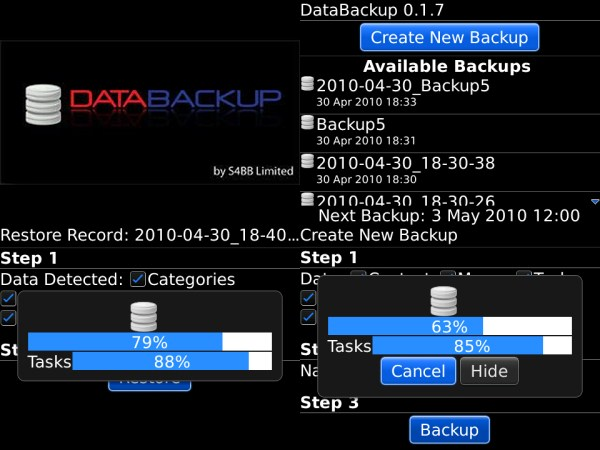 Backup Langsung Data BlackBerry ke Micro SD dengan Memory Backup