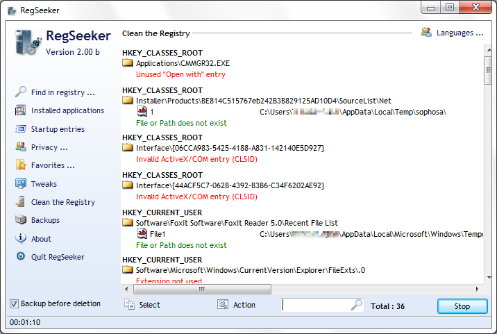 Cari dan Tweak Registry Windows dengan RegSeeker