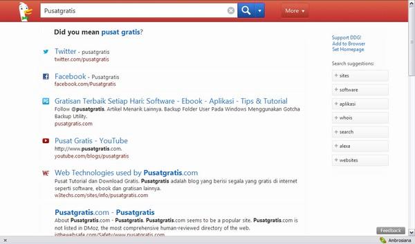 DuckDuckGo: Mesin Pencari yang Berusaha Bersaing dengan Google
