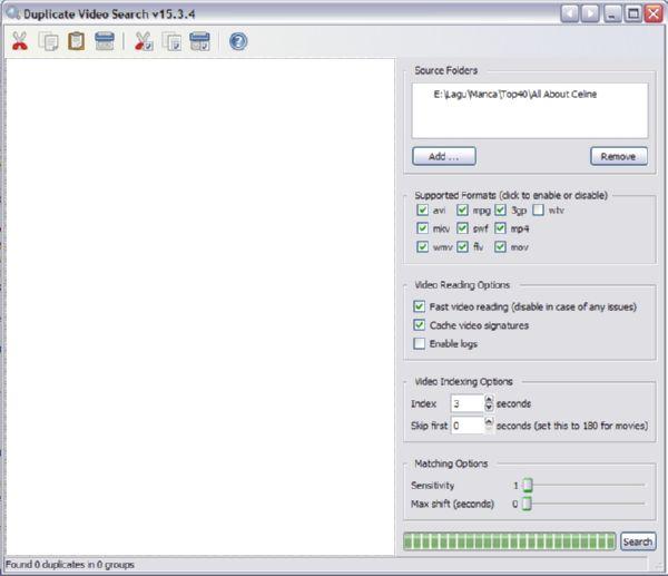 Visual Search Pony: Software Mencari dan Menghapus Video Kembar