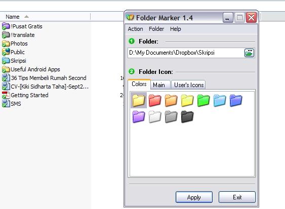 Beri tanda Folder-Folder Penting dengan Folder Marker (Khusus Win XP)