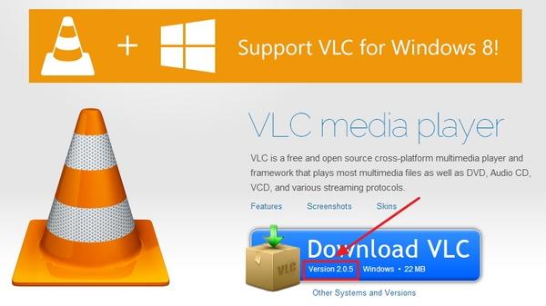 VLC Media Player Versi 2.0.5 Sudah Dirilis!