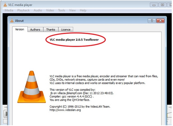 VLC Media Player Versi 2.0.5 Sudah Dirilis!