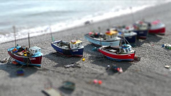 Mengubah Gambar Hingga Menyerupai Miniatur dengan Tilt Shift Maker