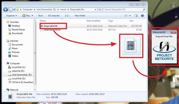 Meteorite : Perbaiki File Video MKV Dengan Cara yang Mudah dan Sederhana