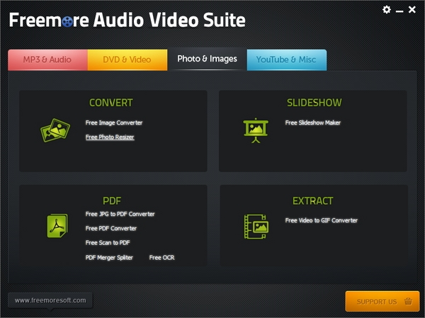 Freemore Audio Video Suite : Satu Langkah Mudah Untuk Mengconvert dan Mengedit Semua Jenis File Media