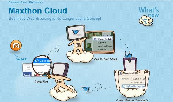 Maxthon Cloud Browser Versi 4.0 Akhirnya Dirilis Juga!
