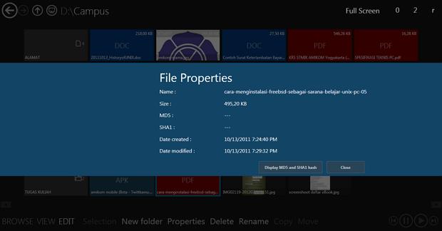 Immersive Explorer : Cara Mudah Menjelajahi File Dengan Tampilan Metro UI