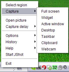 JShot : Screen Capture dengan Fitur Upload Langsung ke Internet