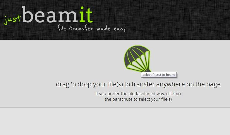 JustBeamIt : Cara Cepat dan Mudah Berbagi File Secara Online