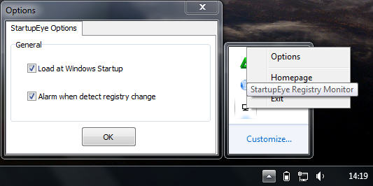 Memantau Registry yang Berjalan Saat Komputer Startup dengan StartupEye_2