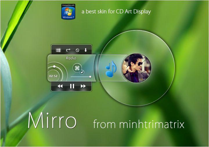 Mirro Player : Audio Player Sederhana dengan Tampilan Transparan