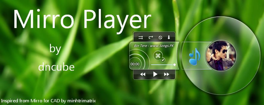 Mirro Player : Audio Player Sederhana dengan Tampilan Transparan
