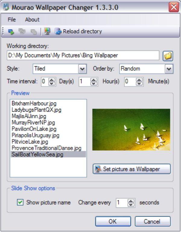 Menikmati Aneka Wallpaper di Desktop PC Kamu dengan Mourao Wallpaper Changer