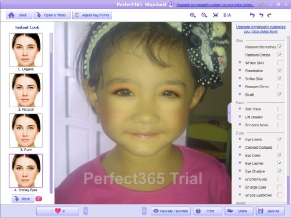 Melakukan Make Over pada Foto Wajah dengan Mudah Menggunakan Perfect365